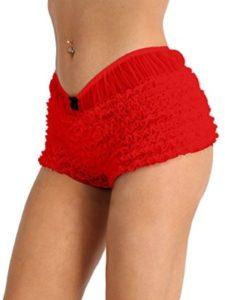 Agoky    ruffle boy shorts