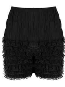 dPois    ruffle boy shorts