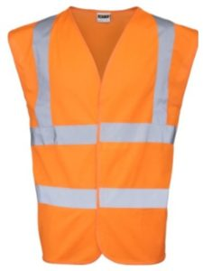 Universal Textiles signage  safety vests