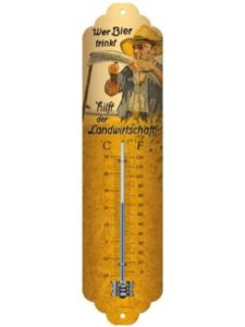 Nostalgic-Art small  wall thermometers
