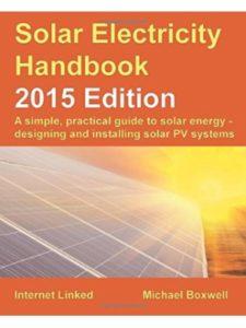 Michael Boxwell solar  electricity books