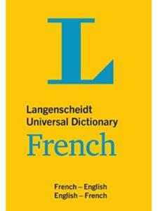 Langenscheidt spanish  french dictionaries