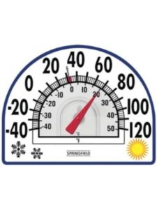 JAYBRAKE    springfield outdoor thermometers