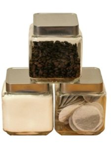 Chef-hub    square canister sets