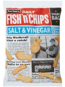 Burton's substitute  fish foods