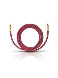 Oehlbach    subwoofer purple cables