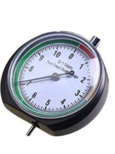 CESHUMD tyre tread keyring  depth gauges