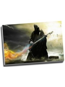 Panther Print wall death  heavy metals