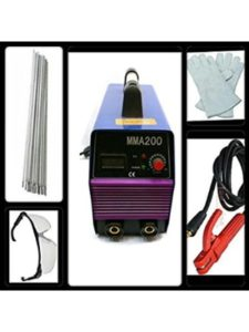 AWELCO welding machine  power consumptions