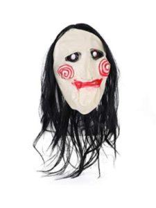Novelty Halloween mask wig  jigsaws