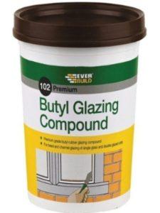 Everbuild window  glazing compounds