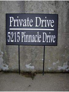 Evan332Eddie yard stake  house numbers