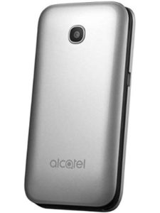 Alcatel clamshell mobile phone