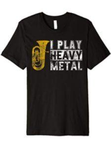 Tuba Loves Shirt Gift band shirt  heavy metals