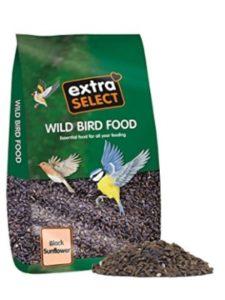 SUBEL bird feeder  sunflower seeds