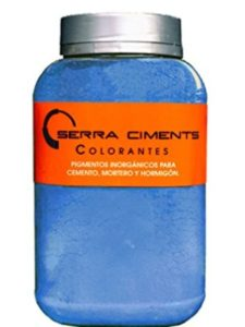 Serra Ciments Pigments blue  cement dyes