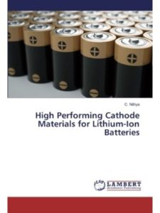 LAP LAMBERT Academic Publishing cathode material  lithium ion batteries