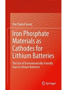 Springer cathode material  lithium ion batteries