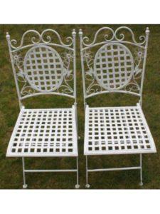 Maribelle chair  square foldings