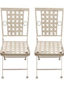 Woodside chair  square foldings