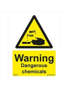 Vital Signs Direct chemical  safety triangles