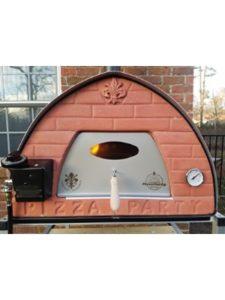 Pizza Party pizzapartyshop.com chimney  brick ovens