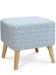 DENG coffee table  herringbone patterns
