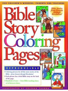 Gospel Light coloring page  bible stories