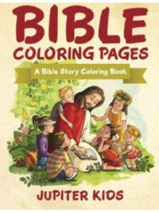 Jupiter Kids coloring page  bible stories