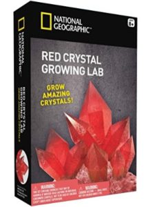 National Geographic    crystal science experiments