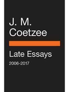 J M Coetzee death  short stories