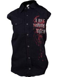 The Walking Dead denim vest  heavy metals
