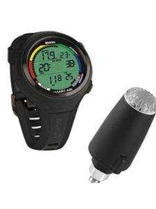 Mares dive watch  depth gauges