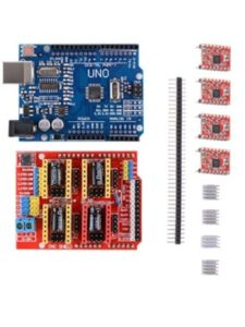 Sun3Drucker driving stepper  motor without controllers
