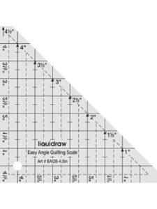 Liquidraw angle ruler