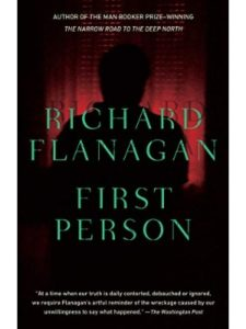Richard Flanagan first person  short stories