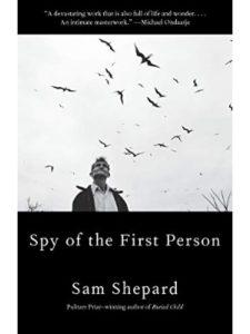 Sam Shepard first person  short stories