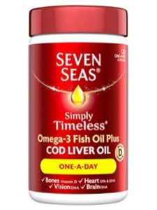 Seven Seas Ltd    fish oil without foods