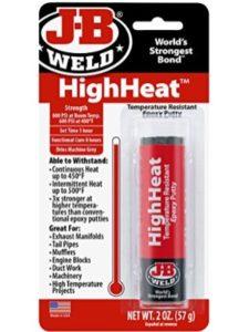 J-B Weld flexible  fire cements
