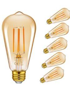 Emotionlite fluorescent flicker  bulbs