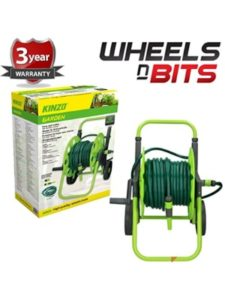 Wheels N Bits   garden hoses standing without holder
