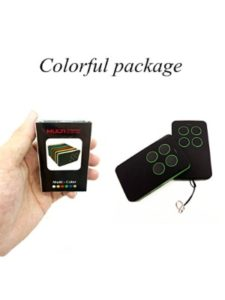 XMJ gate garage opener transmitter  universal remote controls