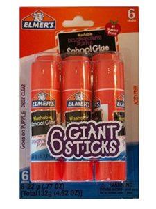Elmer's giant  glue sticks