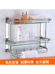 Daadi    glass shelf towel racks