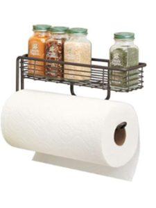 MetroDecor    glass shelf towel racks