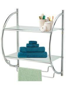 Top Home Solutions    glass shelf towel racks