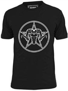 Ripped Ink Clothing Co goat  heavy metals