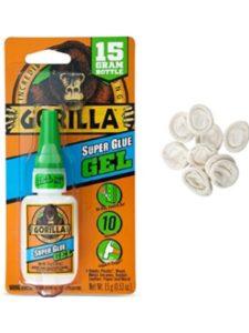 Gorilla    gorilla super glue gel 15gs