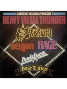 Carrere    heavy metal thunders