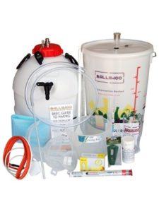 Balliihoo Homebrew holder  mixing buckets